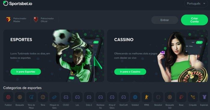 Sportsbet io Brasil - esportes e casino