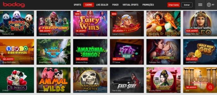 Bodog Casino - novos jogos todas as semanas