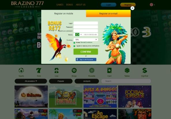 Brazino 777 site de apostas online do Brasil