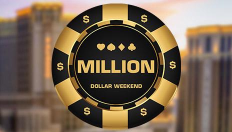 Torneio de Poker Million Dollar Weekend no Bodog