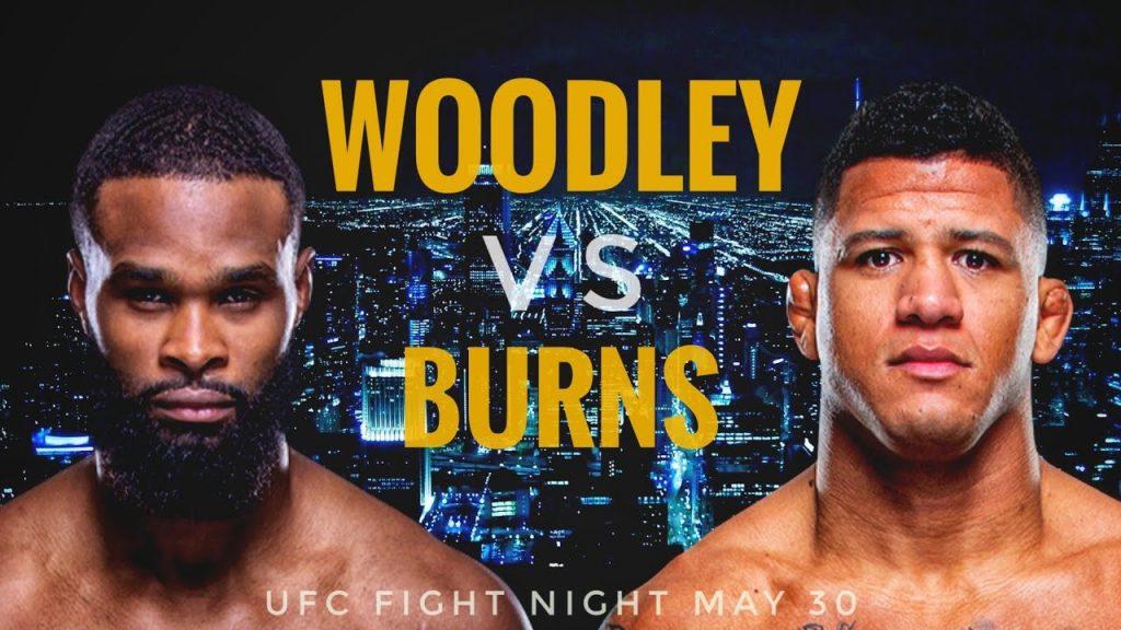 Apostar no UFC Fight Night: Tyron Woodley x Gilbert Burns