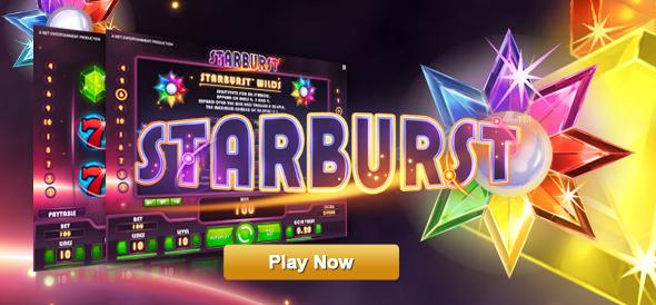 Starburst - jogo de slot favorito