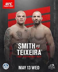 Apostar no UFC Fight Night 171: Anthony Smith x Glover Teixeira