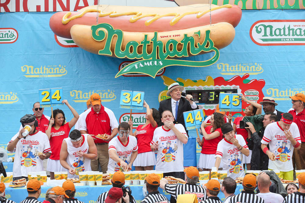 Nathan's Hot Dog Eating competition