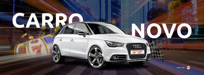 Sorteio de Carro - Audi A1 0km no Bacana Play
