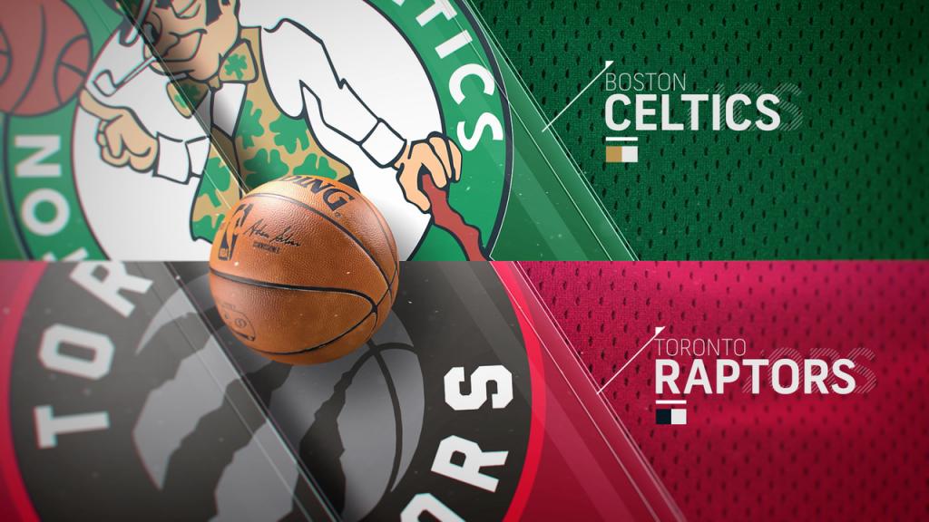 Agenda NBA - Boston Celtics x Toronto Raptors