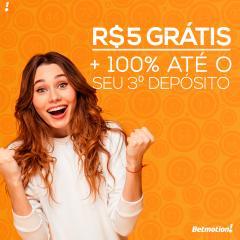 Betmotion - Futebol brasileirao, NBA, Bonus Gratis
