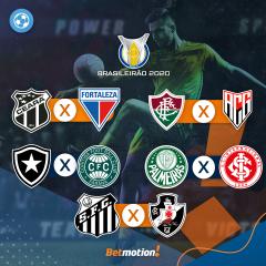 Betmotion Futebol - Brasileirão Agenda Completa