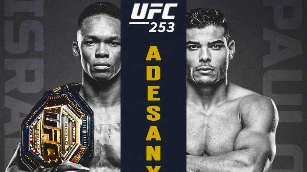 Apostar no UFC 253: Israel Adesanya x Paulo Borrachinha