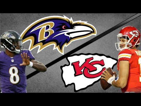 Assistir NFL ao-vivo com Baltimore e Kansas City na Semana 3