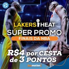 Finais da NBA ao vivo Betmotion - lakers heat apostar online