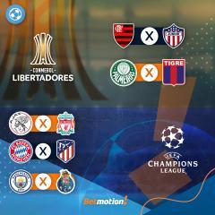 Betmotion - Agenda do Futebol - Brasileirao - Europa