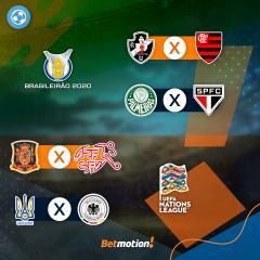 Agenda Futebol ao vivo na Betmotion