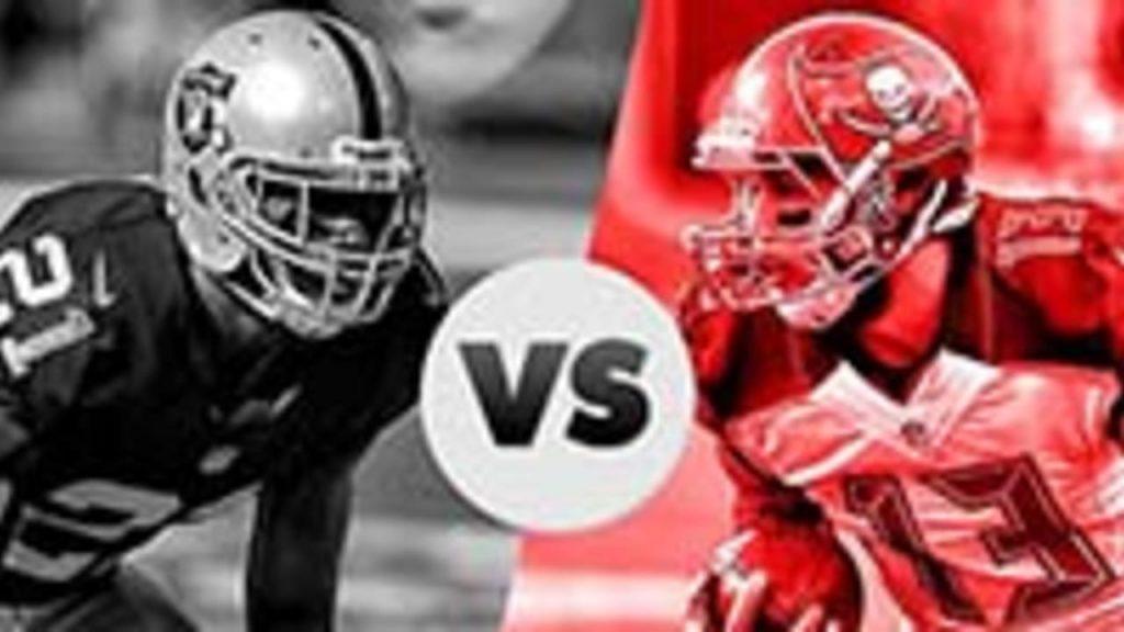 Futebol Americano - NFL: Las Vegas Raiders X Tampa Bay Bucs