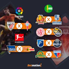 Agenda do Futebol na Betmotion - Brasileirão, Libertadores e Sul Americana