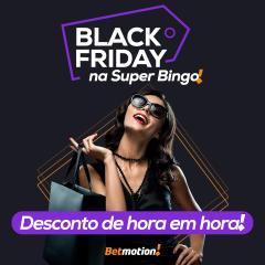 Betmotion - promoção de descontos na Black Friday