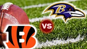 Futebol Americano - NFL - Baltimore Ravens X Cincinnati Bengals