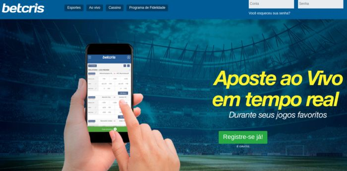 Betcris Brasil - site para apostar em futebol no Brasil