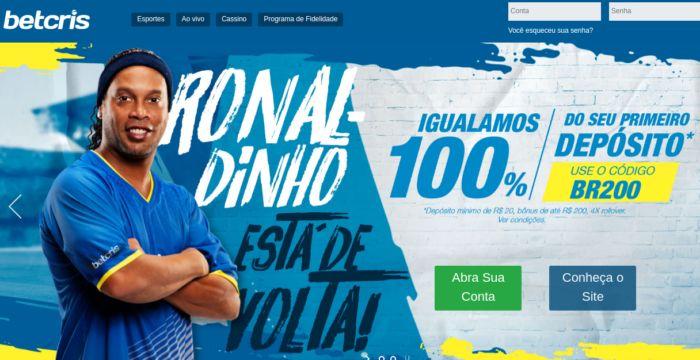 Betcris Brasil - Ronaldinho Gaúcho faz propaganda para a Betcris