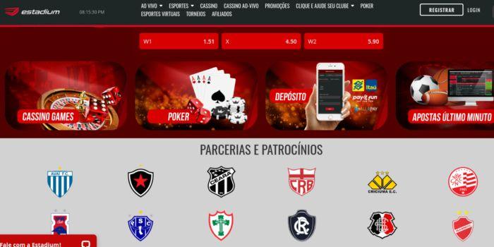 EstadiumBet - site de apostas que tenta entrar no Brasil conquistando fãs do Futebol