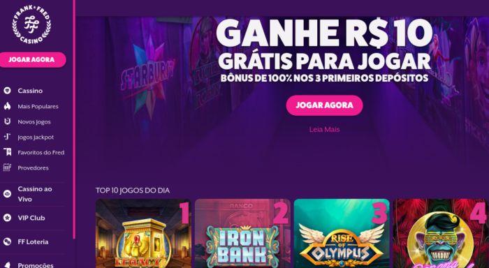 Frank e Fred Casino Brasil