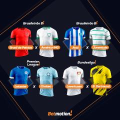 Betmotion Futebol - agenda da semana