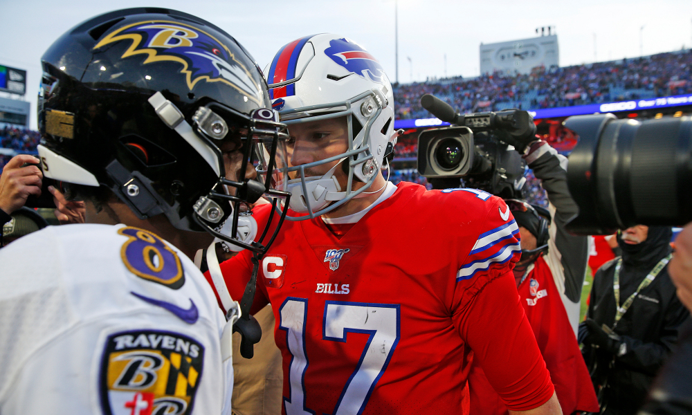 Futebol Americano - NFL - Buffalo Bills X Baltimore Ravens