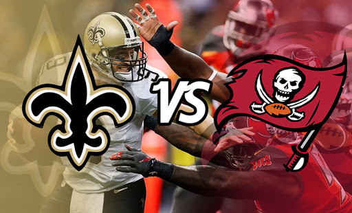 Futebol Americano - NFL - Tampa Bay Buccaneers X New Orleans Saints
