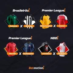 Betmotion - Agenda Semanal do Futebol