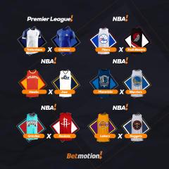 Betmotion - Agenda Semanal da NBA