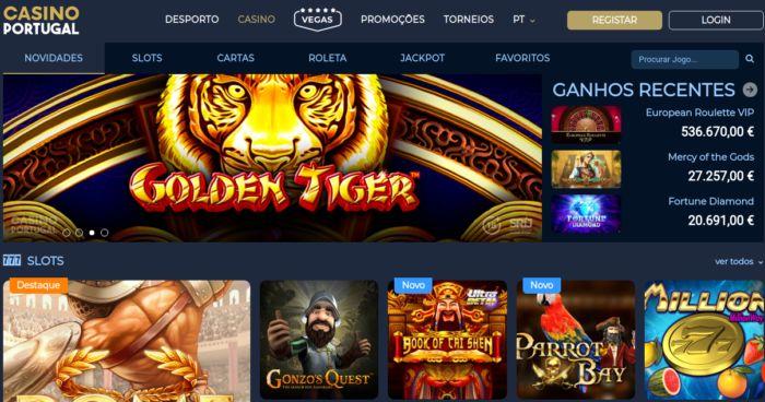 Jogos de casino - Casino Portugal