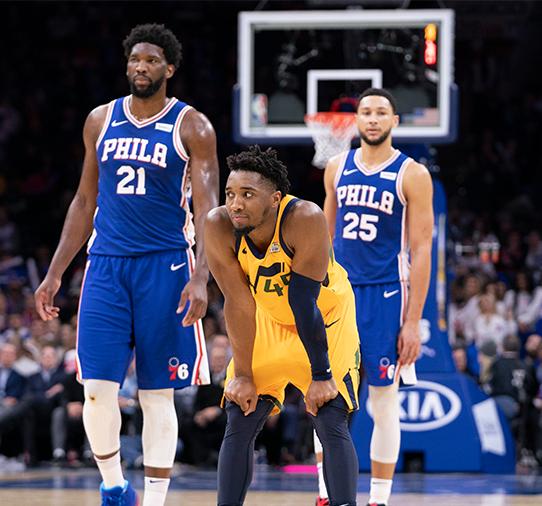 Apostar na NBA - Utah Jazz X Philadelphia 76ers
