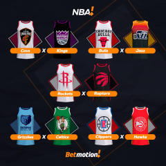 Betmotion Futebol e NBA - Agenda da Semana