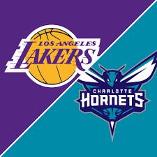 Apostar na NBA - Los Angeles Lakers X Charlotte Hornets