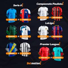 Betmotion - Futebol - Programação da Semana