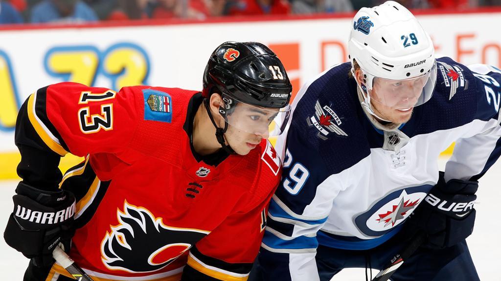 Hóquei: Apostar na NHL Winnipeg Jets Vs Calgary Flames