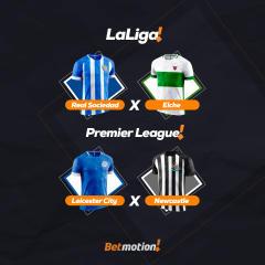 Betmotion - Agenda do Futebol da Semana