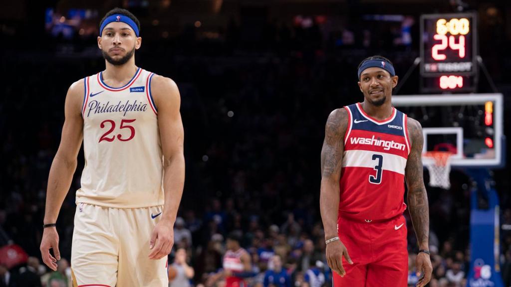 Basquete - Apostar na NBA: Washington Wizards X Philadelphia 76ers - Jogo 2