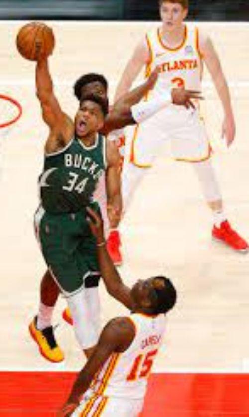 Basquete - Apostar na NBA - Atlanta Hawks x Milwaukee Bucks, Jogo 1