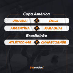 Agenda do Futebol na Semana - Betmotion
