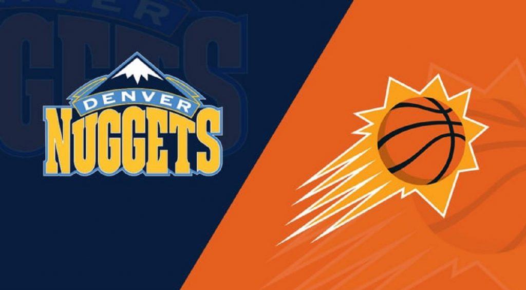 Basquete - Apostar na NBA - Denver Nuggets X Phoenix Suns, Jogo 2