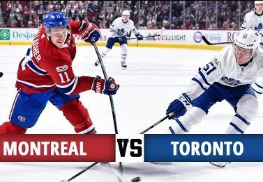 Hóquei - Apostar na NHL - Montreal Canadiens X Toronto Maple Leafs
