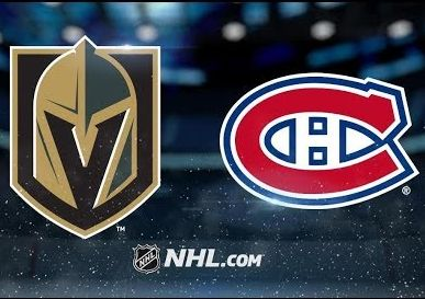 Hóquei - Apostar na NHL - Vegas Golden Knights X Montreal Canadiens
