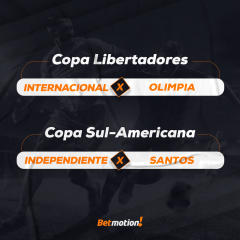 Agenda do Futebol da Semana por Betmotion