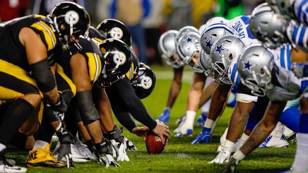 Futebol Americano - Apostar na NFL: Cowboys-Steelers