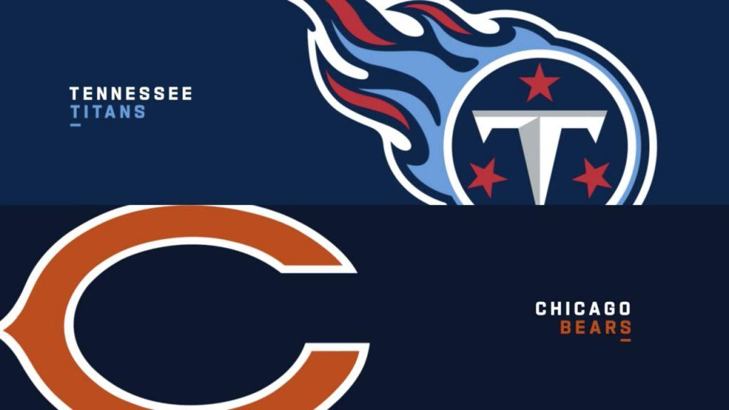 Futebol Americano - Apostar na NFL - Chicago Bears X Tennessee Titans