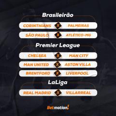 Agenda da Semana - Futebol Betmotion