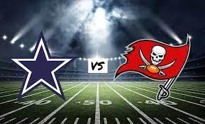 Futebol Americano - Apostar na NFL - Dallas Cowboys X Tampa Bay Buccaneers