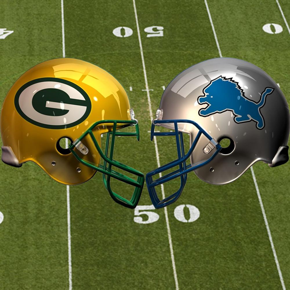 Futebol Americano - NFL: Detroit Lions no Green Bay Packers
