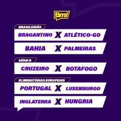 Betmotion Futebol - Programação de Jogos da Semana
